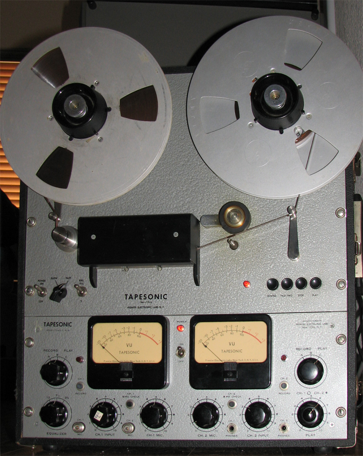 Tapesonic 70A TRS reel to reel tape recorder in the Reel2ReelTexas.com's vintage recording collection