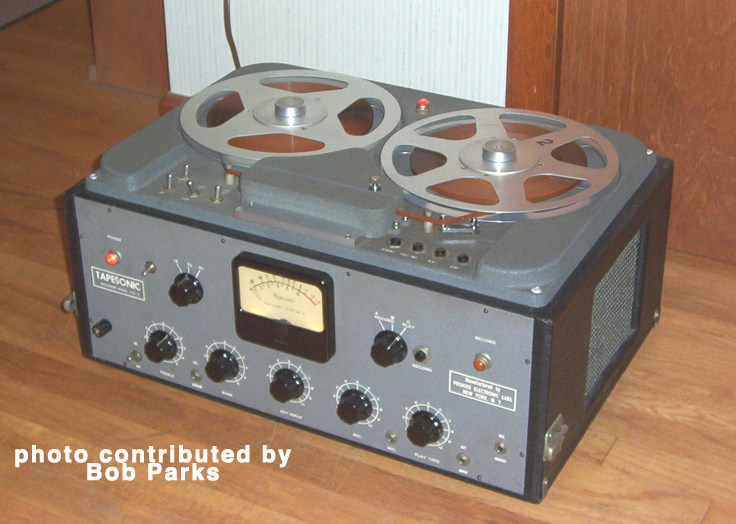 Tapesonic reel to rel tape recorder