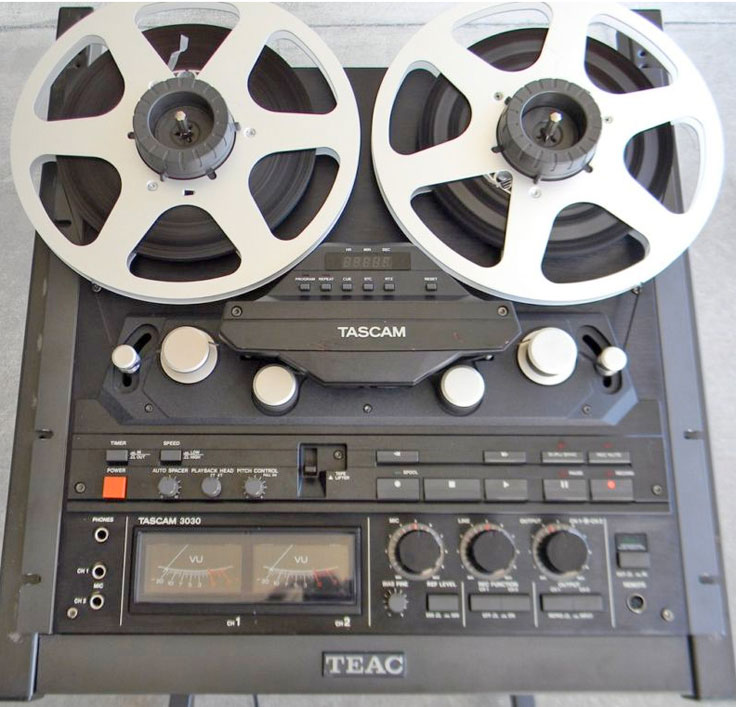 Tascam 3030 reel to reel recorder photo submitted by others to the MOMSR.org and Reel2ReelTexas.com vintage recording collection