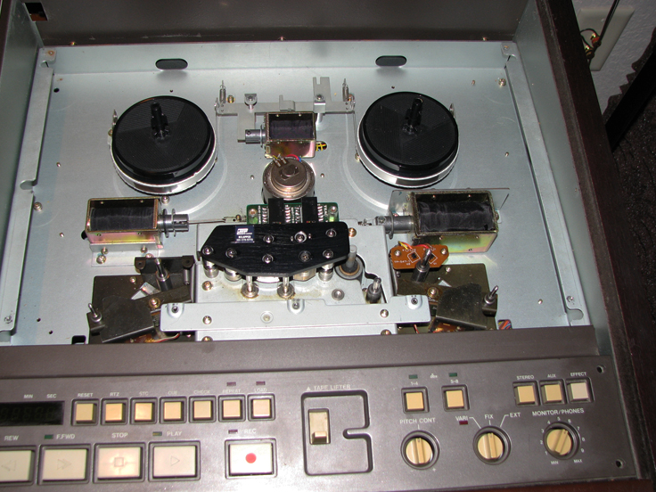 Restoring Teac Tascam 388 mixer and professionalreel to reel tape recorder in the Reel2ReelTexas.com vintage recording collection