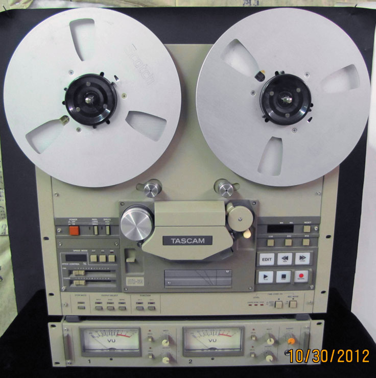 Tascam ATR 60 2track  reel to reel recorder photo submitted by others to the MOMSR.org and Reel2ReelTexas.com vintage recording collection