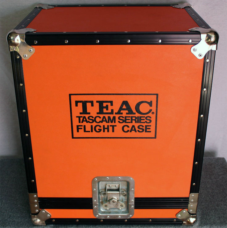 Tascam Flight Case photo submitted by others to the MOMSR.org and Reel2ReelTexas.com vintage recording collection