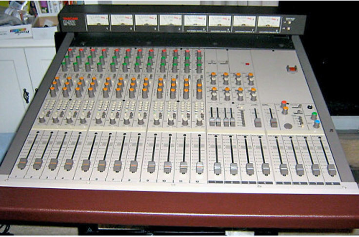 Tascam Model 12 mixer photo submitted by others to the MOMSR.org and Reel2ReelTexas.com vintage recording collection