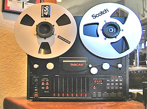 Teac Tascam 388 eight track mixer and  reel to reel tape recorder in the Reel2ReelTexas.com vintage recording collection