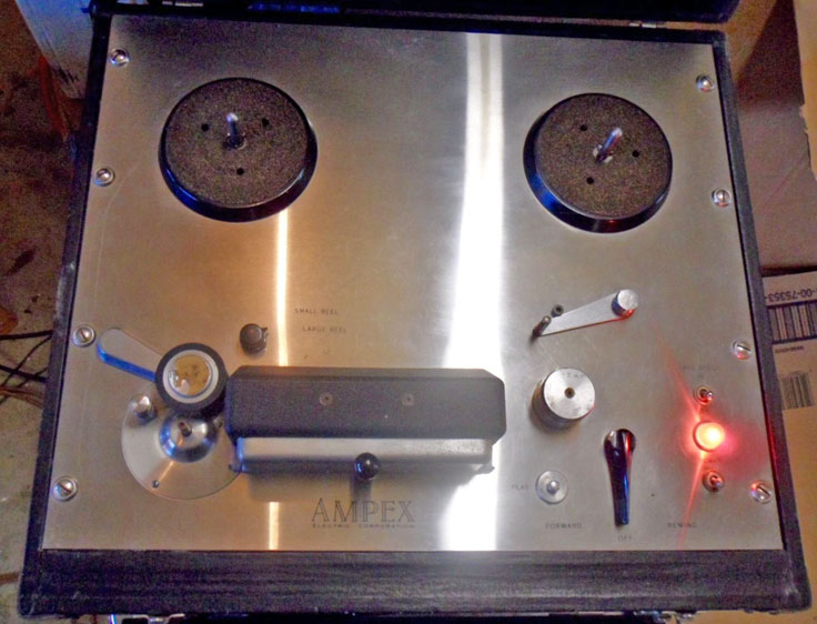 Teac 400C photos Donated By John J. Via to the Museim of Magnetic Sound Recording history of recording collection