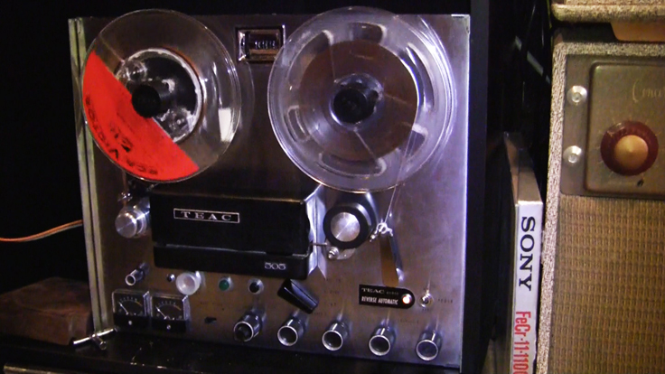Teac 505  in the Reel2ReelTexas.com vintage reel tape recorder recording collection