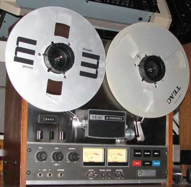Teac A-3300 sTrack reel tape recorder in the Reel2ReelTexas.com vintage reel tape recorder recording collection
