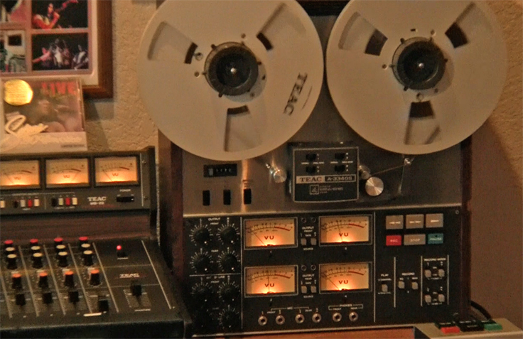 Teac Tascam A-3340 Track professional  mastering recorder in the Museum of magnetic Sound Recording