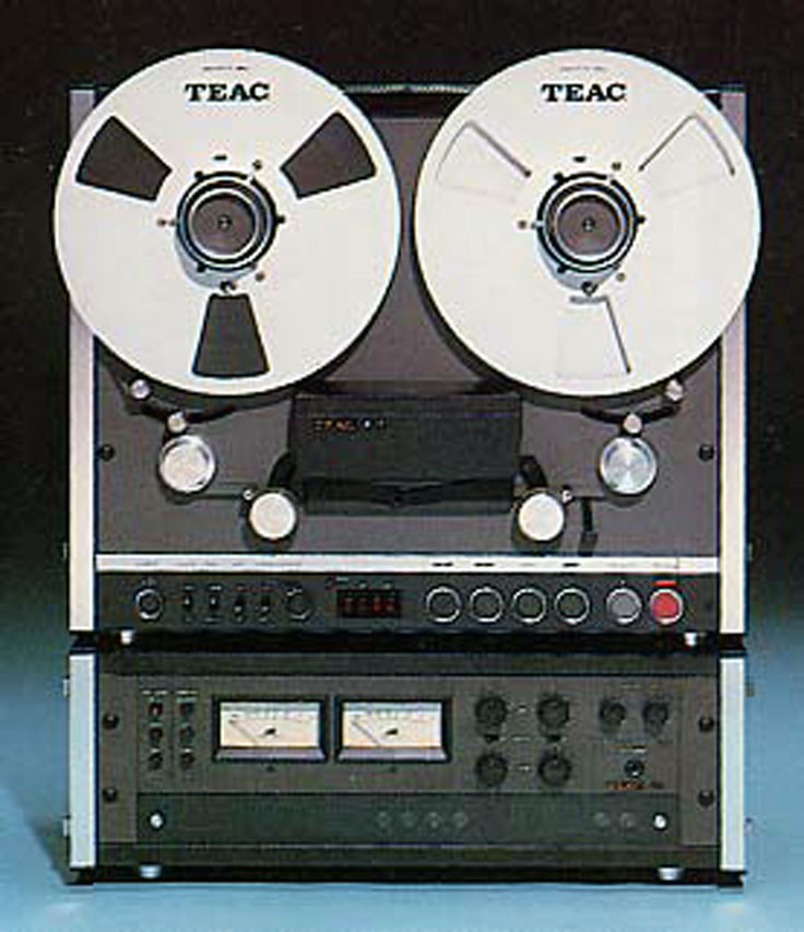 Teac F-1 reel to reel recorder photo submitted by others to the MOMSR.org and Reel2ReelTexas.com vintage recording collection