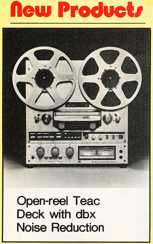 1979 ad for the Teac X-1000R reel to reel tape recorder in the Reel2ReelTexas.com vintage reel tape recorder recording collection Museum