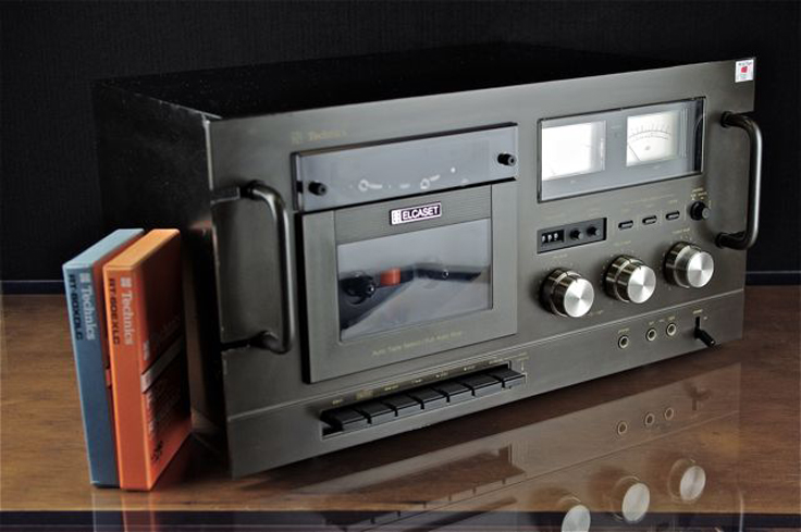 Technics Elcaset tape recorder