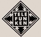 Telefunken logo in the Museum of Magntic Sound Recording