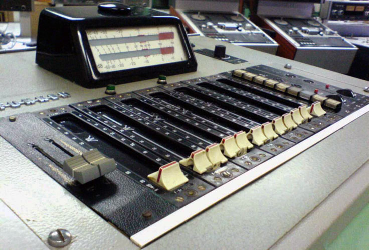 Telefunken mixing console  photo in the Reel2ReelTexas.com vintage recording collection