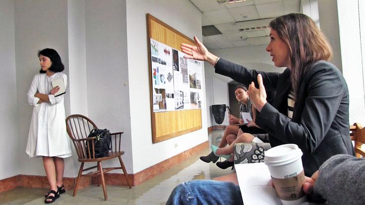 UT Architecture Interior Design Class Tamie Glass Museum of