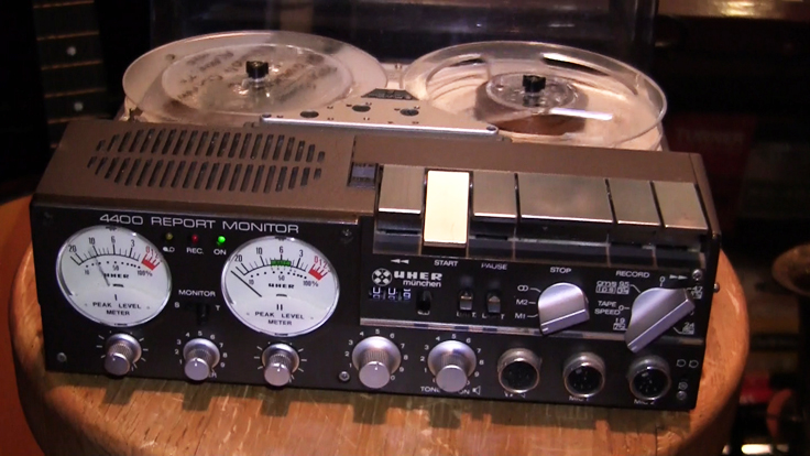 Uher 4400 reel tape recorder in the Reel2ReelTexas.com vintage recording collection
