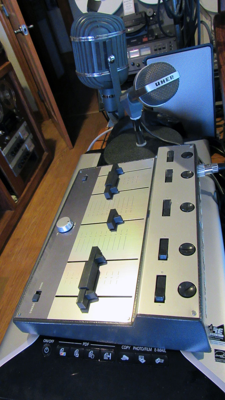 Uher Mixer M5 121A microphone mixer in the Reel2ReelTexas.com vintage recording collection the
