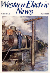 April 1913 Western Electric News Cover
