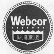 Webcor logo in the Museum of magnetic Sound Recording