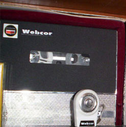 "Webcor Microcorder 3"" portable reel to reel tape rcorder in the Reel2ReelTexas.com vintage recording collection"