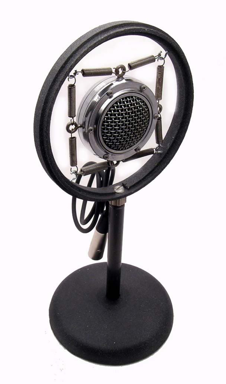 1920s Webster Chicago microphone #1231 in the Museum of magnetic Sound Recording
