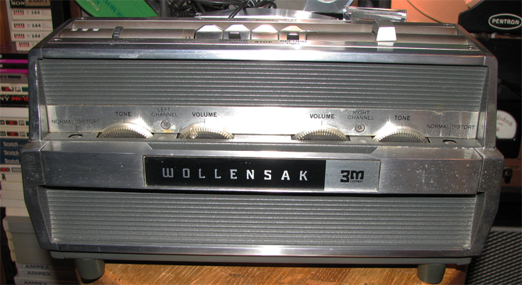 1965 Wollensak 1580 reel to reel tape recorder  in the Reel2ReelTexas.com vintage recording collection