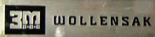 3M Wollensak logo in the Reel2ReelTexas.com vintage recording collection