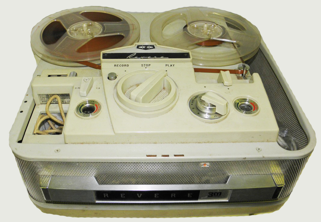 1961 revere reel tape recorder in the Reel2ReelTexas.com vintage recording collection
