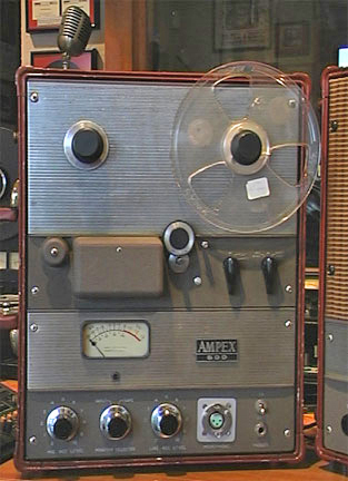 XLR input replaced on this Ampex 600 Reel2ReelTexas.com vintage reel tape recorder recording collection