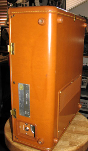 Ampex 601 reel tape recorder case in the Reel2ReelTexas.com vintage recording collection