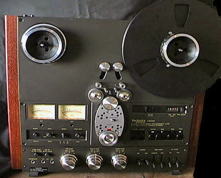 Technics RS-1500 reel tape recorder in the Reel2ReelTexas.com vintage recording collection