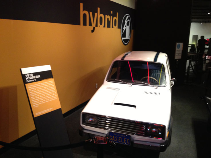 Robert G. Metzner's hybrid donated to the LA Peterson Automobile Museum.