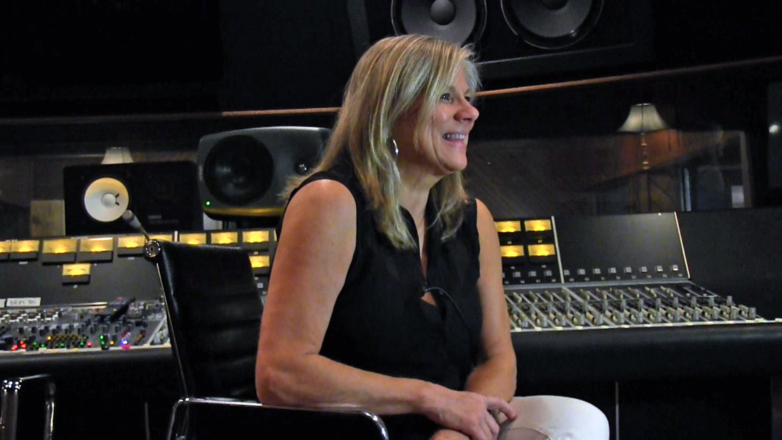 Lisa Fletcher still photo taken from the interview video produced for the Museum of Magnetic Sound Recording