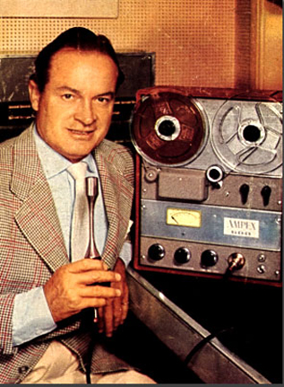 1954 ad featuring Bob Hope for the Ampex 600 reel to reel tape recorder in the Reel2ReelTexas.com vintage recording collection