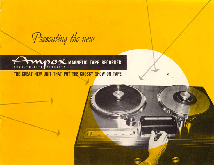 1948 ad for the Ampex 200A