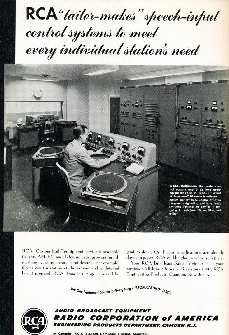 Reel to Reel Tape Recorder Manufacturers RCA - Museum of Magnetic