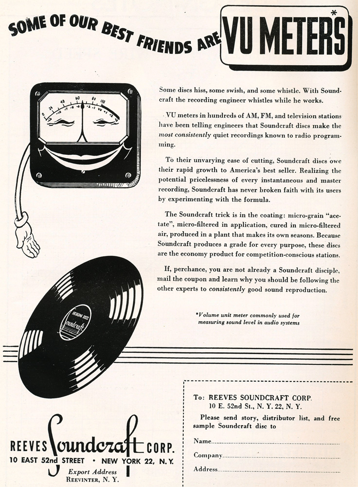1949 Soundcraft ad  in the Reel2ReelTexas.com vintage reel tape recorder recording collection