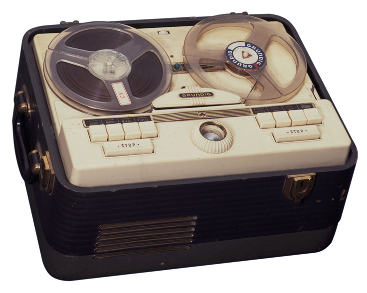 reel to reel tape recorder manufacturers grundig ag reel tape recorders museum of magnetic. Black Bedroom Furniture Sets. Home Design Ideas