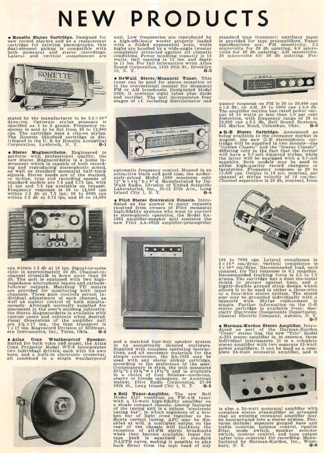 1958 ad for the Magnecord reel to reel tape recorder in the Reel2ReelTexas.com MOMSR vintage recording collection