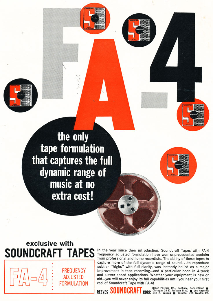 1960 Soundcraft ad  in the Reel2ReelTexas.com vintage reel tape recorder recording collection