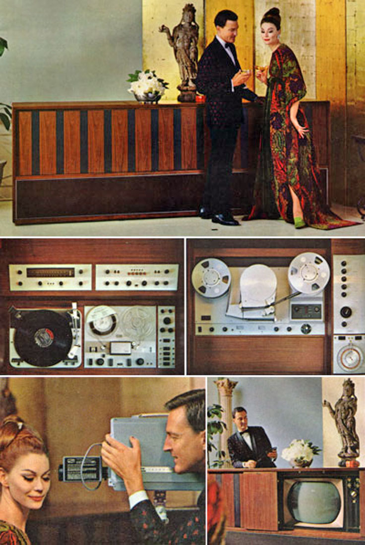 e Ampex Signature V in the 1963 Neiman-Marcus catalog at a price of $30,000
