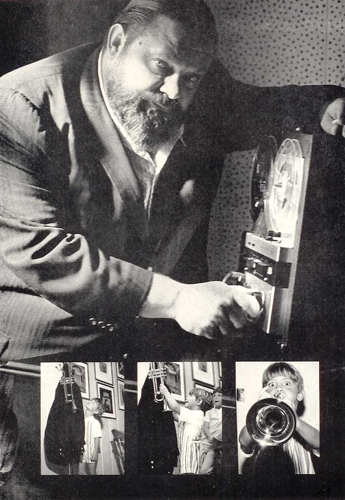 1965 ad for a reel to reel tape recorder featuring Al Hirt  in the Reel2ReelTexas.com vintage recording collection
