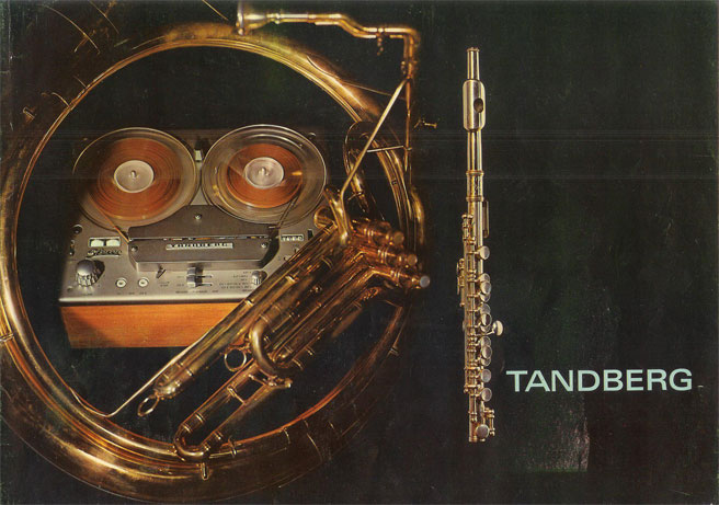 1965 ad for Tandberg reel to reel tape recorders in the Reel2ReelTexas.com vintage recording collection