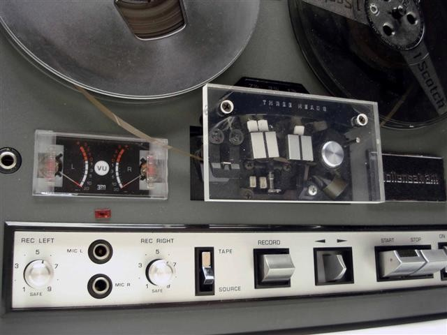 Wollensak 6250 reel tape recorder  in the Reel2ReelTexas.com vintage recording collection