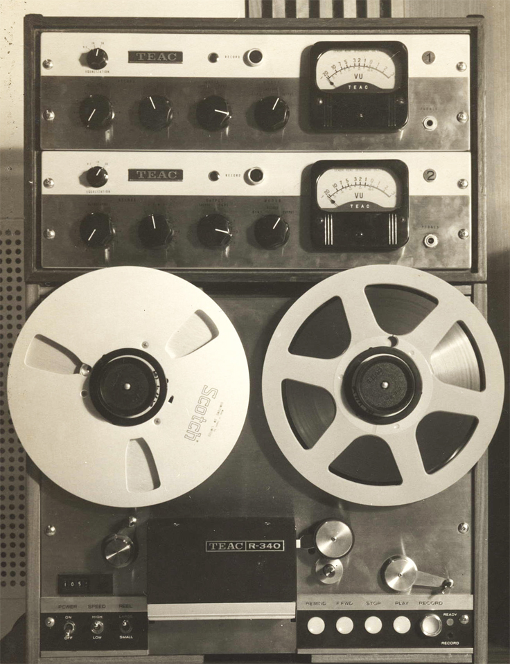 Teac R340 reel tape recorder photo  in the Reel2ReelTexas.com vintage recording collection