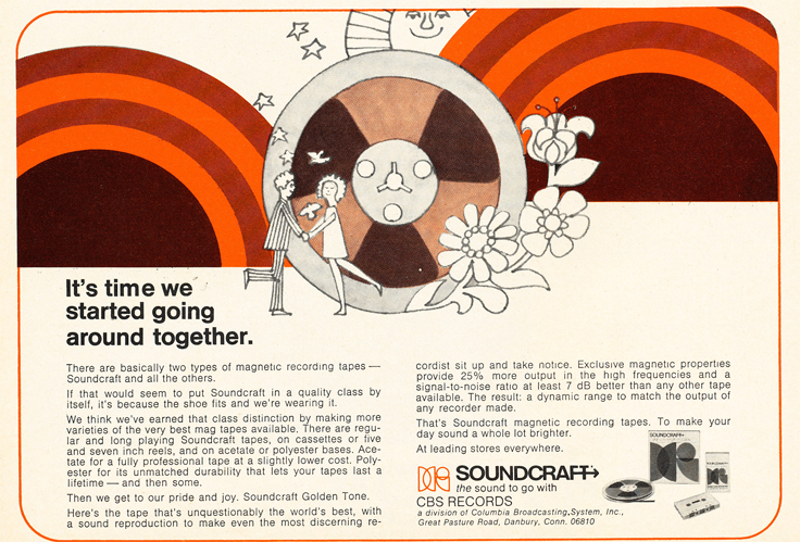 1971 Soundcraft ad  in the Reel2ReelTexas.com vintage reel tape recorder recording collection