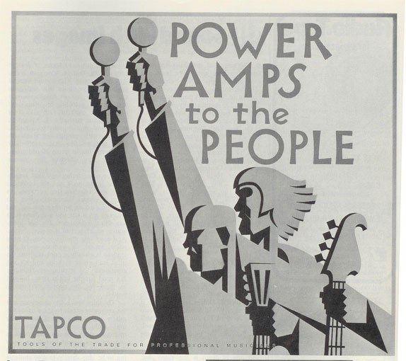 1971 Tapco ad in the Reel2ReelTexas.com vintage recording collection