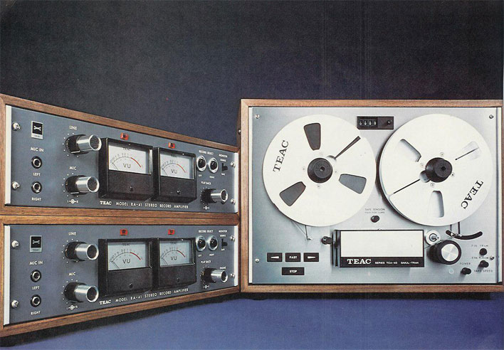 1971 Teac brochure reel to reel tape recorder in the Reel2ReelTexas.com vintage recording collection