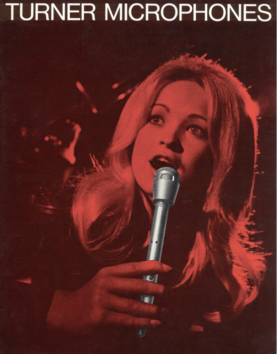 1972 Turner microphone ad in the Reel2ReelTexas.com vintage recording collection