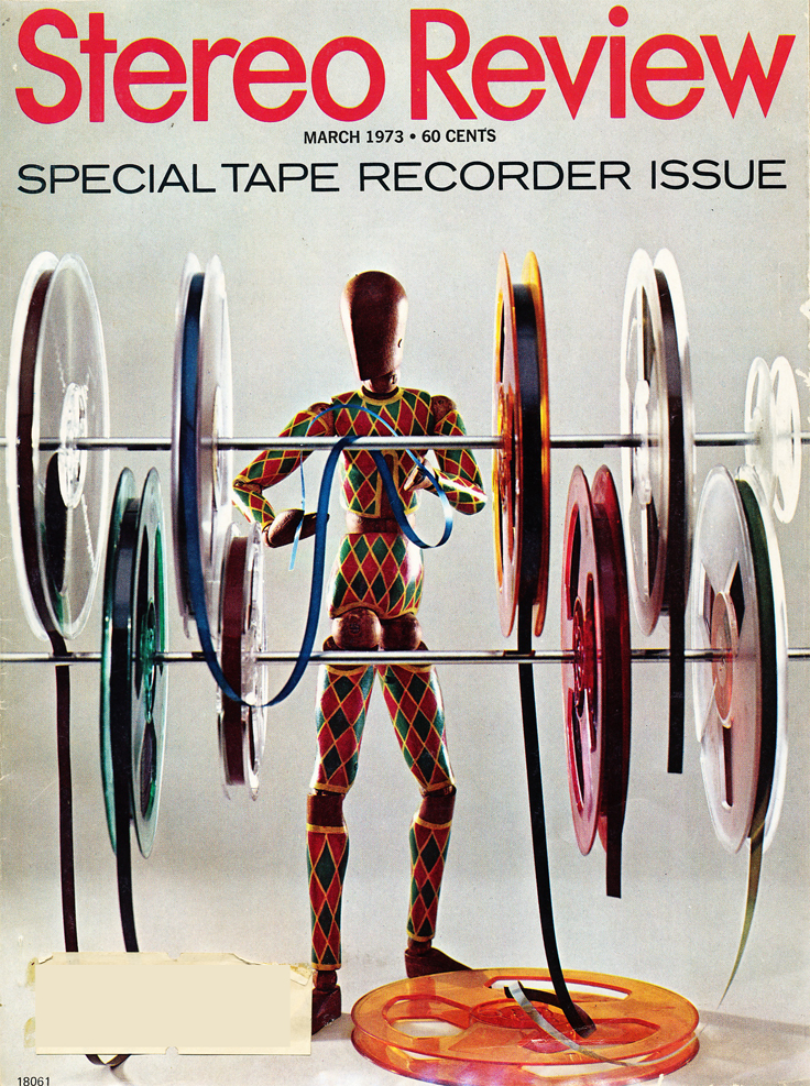 March 1973 cover of the Stereo Review Special Tape Recorder Issue  in the Reel2ReelTexas.com vintage recording collection