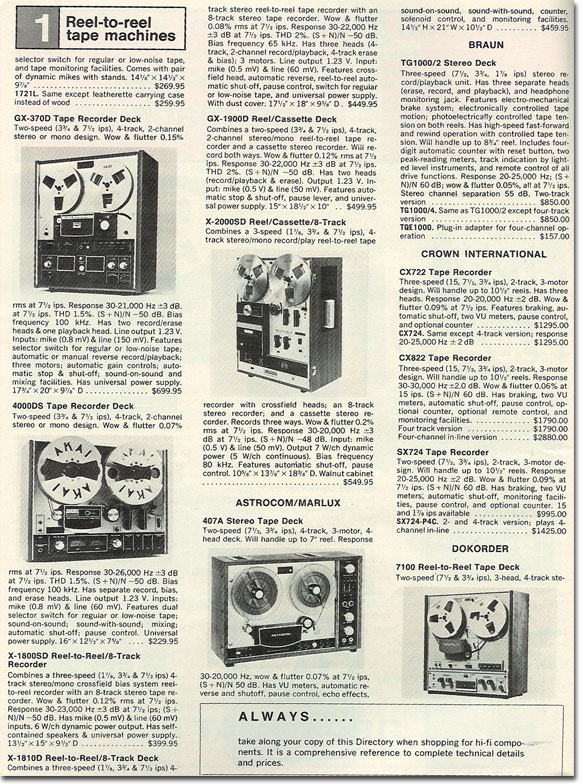 Akai reel to reel tape recorder ad in the Reel2ReelTexas.com vintage recording collection